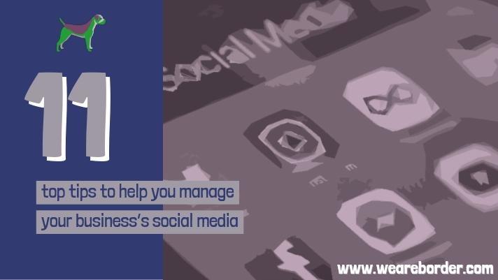 FREE social media top tips guide